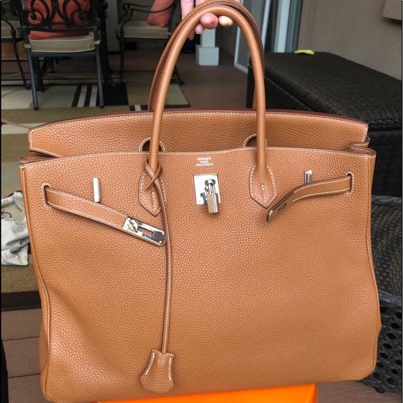 e6fa5da2094b Hermès Birkin Gold Togo leather 40